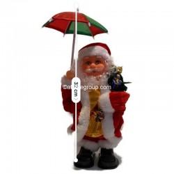 Père Noël et animé dansant