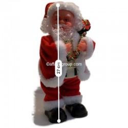 Père Noël lumineux et animé danseur