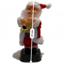 Père Noël trompettiste