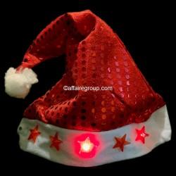 Bonnet de Noël Paillettes