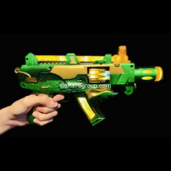 Pistolet mitrailleur lumineux multi balles