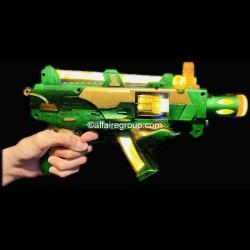 Pistolet mitrailleur multi balles lumineux et musical