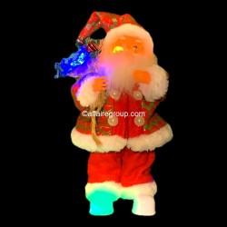 Père Noël hotte lumineuse