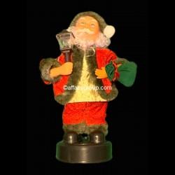 Père Noël chandelier lumineux