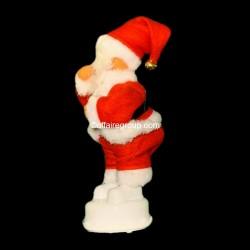 Père Noël lumineux danseur