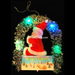 Père Noël lumineux suspendu