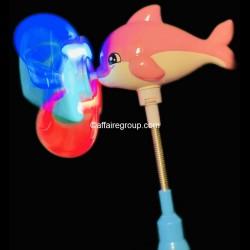 Moulin lumineux tourniquet dauphin