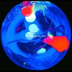 Guirlande lumineuse rideau multicolore
