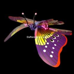 Papillons lumineux