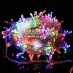 Guirlande multicolore lumineuse