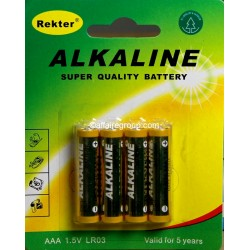 Piles alcaline AAA-LR03