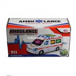 Ambulance lumineuse