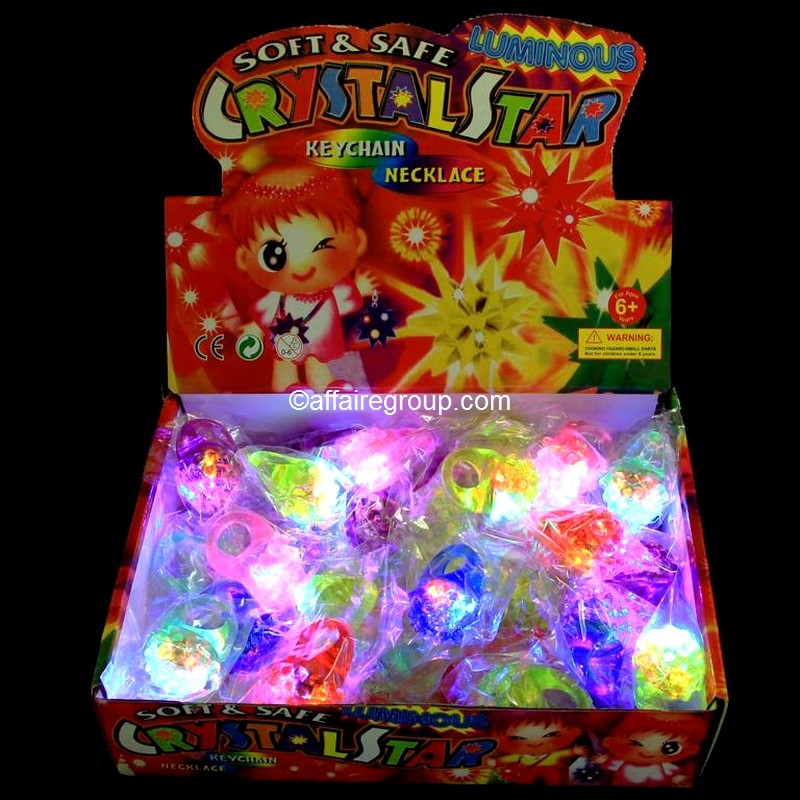 Grossiste bagues lumineuse