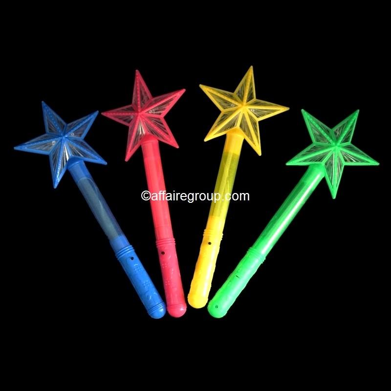 Bâton lumineux étoile 38 cm