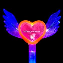 Bâton lumineux cœur